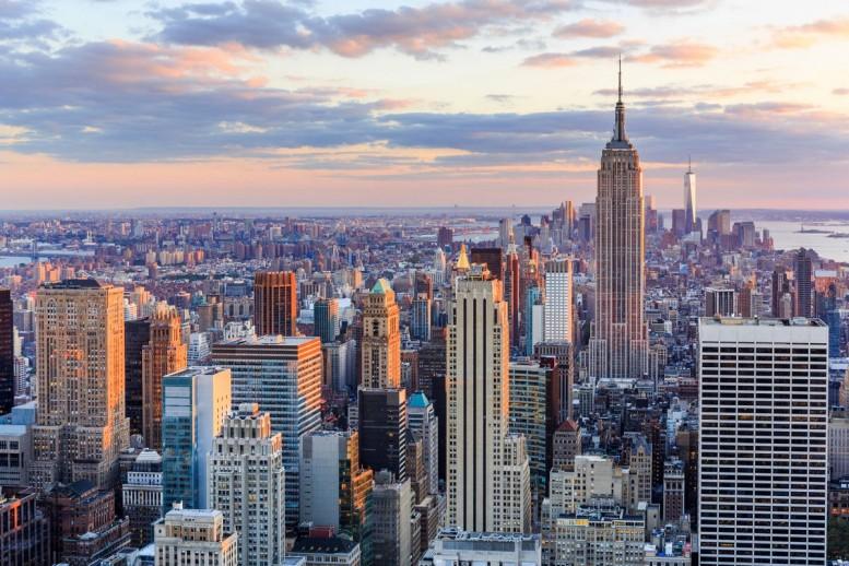 ニューヨーク風景写真